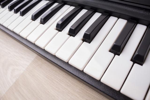 健康ピアノ 鍵盤画像